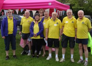 The MVLC team at The Road Rose Association gazebo