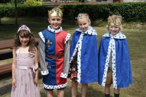 King, Quenn, prince and Princess