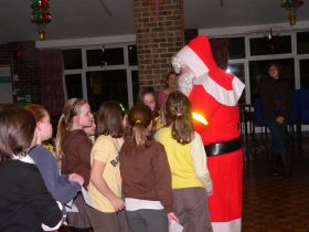 Santa with the Guides